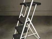 The Cosco Max Work Ladder is great for inside the home,