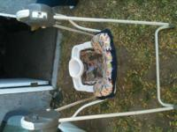 cosco 5 speed baby swing in very good conditions only