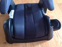 This is a black Cosco booster seat in great condition.