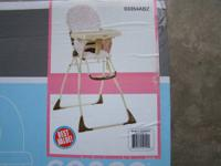 1-new Cosco high chair, un-opened , still in box,