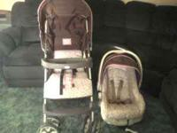 bought @ the end of 2010. stroller, carrier and base.
