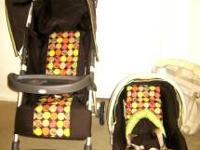 COSCO BABY STROLLER & CAR SEAT (LIKE NEW) WITH CARSEAT