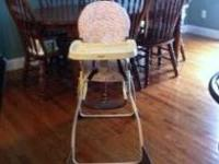 This is perfect if you dont want or need a highchair