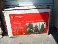 7.5 foot Fully lighted Costco Christmas Tree ($180 when