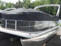 This is an any new 2013 Sylvan 18' Pontoon with a