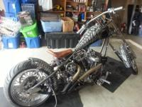 Here I have a custom show winning chopper. 100 CI