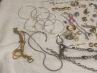 I am offering all of this costume precious jewelry. It