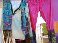 Costume - Ladies Hippie- Size Large (Ladies only in