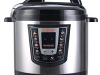 This is our durable, 6-quart Electric Pressure Cooker