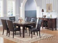 Cameron Dining Collection / Dark Cherry & Buttermilk To