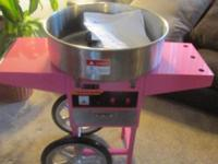Deluxe Candy Cotton Machine with Supplies. All offers