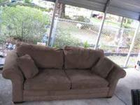 nice couch,brown.make offer.. Location: orange park