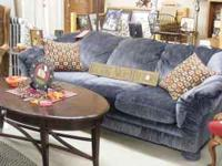 G & B Used Furniture and Country Home Decor has a blue