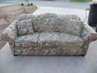 Couch for sale in good condition, 88 inches wide.