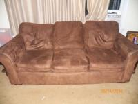 Microfiber couch just needs cleaning(easy to wipe off)