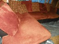 we have a very nice couch made by ashley furniture for