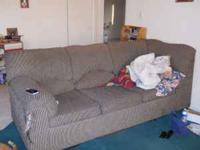 I have a two piece, L-shaped, couch for sale. It has