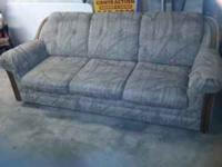 couch in really good condition. No rips or tears. It