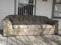 Long couch...in good shape.sorry had to bring the couch