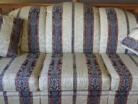 Beautiful brocade couch just in time for spring