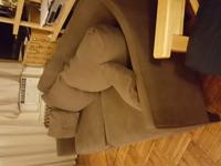 Couch is about 8 years old, it is in decent shape. From