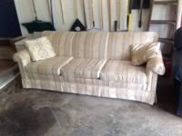 Print couch and chair for sale, will deliver for extra