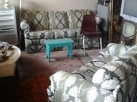 I have for sell is a good SOFA AND LOVE SEAT SET. I am