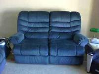 Couches in great shape. Recliners on couch and love