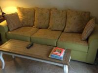Couch and love seat for sale. They are from Minerva's