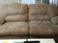 Type:Living RoomType:Sofas Micro fiber. Both recline.