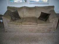 Hi, we are selling our couch and love seat because we
