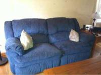 Sofa and love seat is yours all you have to do is haul