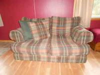 Couch and Loveseat for sale. We are purchasing new