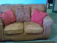 have s nice couch and loveseat for sale it is in good