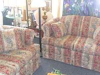Beautiful couch and loveseat for sale... $300.00 for