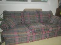 Matching couch and loveseat.  Recently downsized and