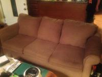 Ashley couch and love seat. Approx 2 years old. All one