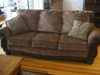 I am offering my living-room sofa. It is just a couple