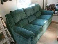 Couch for sale in suburb near MSU. Can deliver.