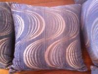 Set of five decorative couch pillows! softness, nice