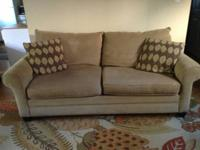 Comfortable sofa from Bassett Furniture. Purchased it