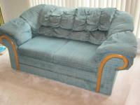 Like New condition - 3 pcs living room furnishings will