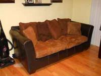 Sofa and Love Seat for sale. Great starter furniture,