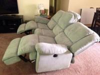 Fresh microfiber sofa & & love seat for sale! Moving