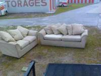 this couch an love seat has been in storage in great