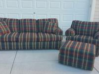 King Hickory couch and oversized chair and large