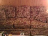 MOVING SALE, COUCH, ROCKER, TWO OTTOMAN AND ONE END