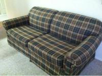 Lane pull-out couch. Double size mattress included.