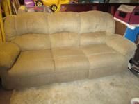 I have available for sale a tan fabric couch with