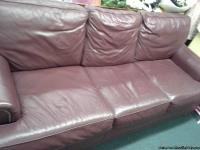 Leather Couch VERY GOOD CONDITION - CALL # Price $425